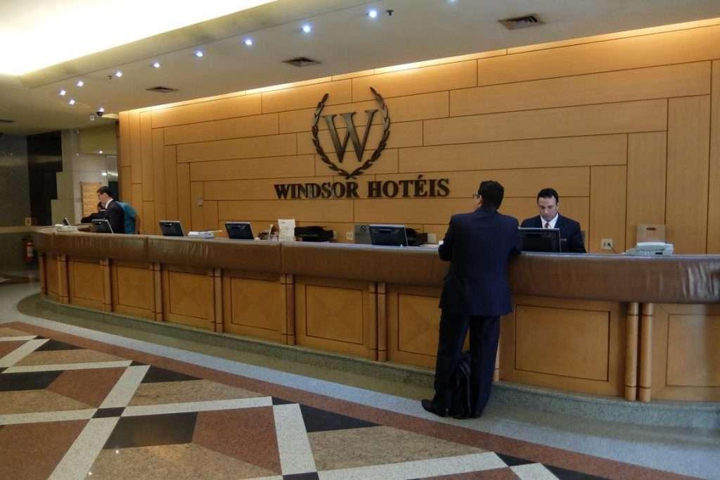 Hall hotel Windsor Guanabara
