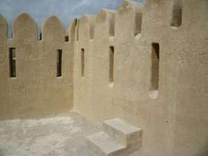 Interno del forte di Fujarah