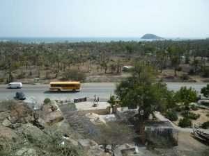 Vista dal forte di Fujarah