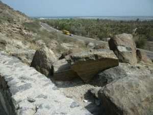 Panorama dal forte di Fujarah