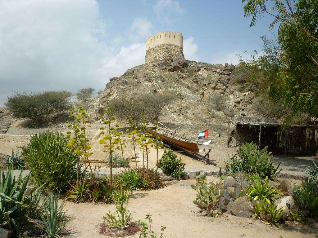 torre della fortezza di Fujarah