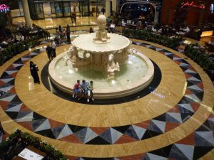 piazza del Mall of the emirates