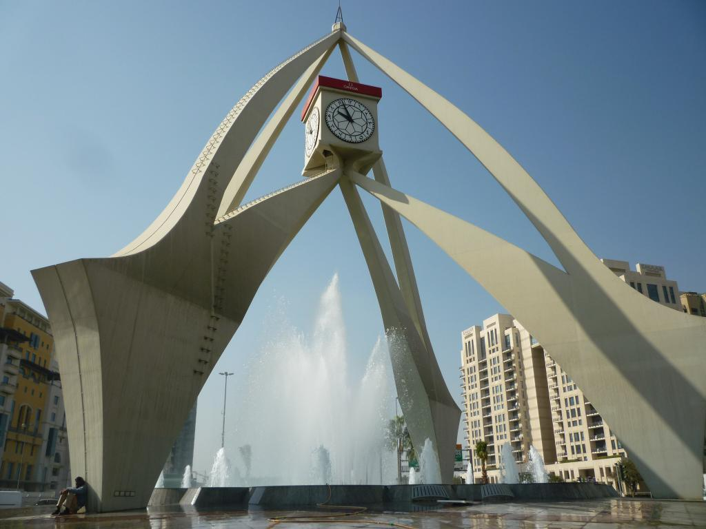 Clock tower di Deira