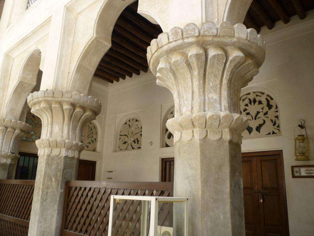 Pilastri del Dubai museum