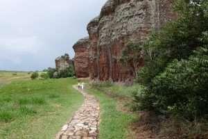 Vila Velha sentiero