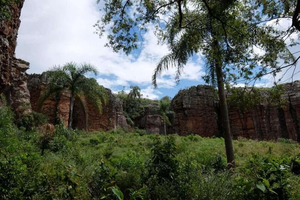 Vila Velha parco nazionale
