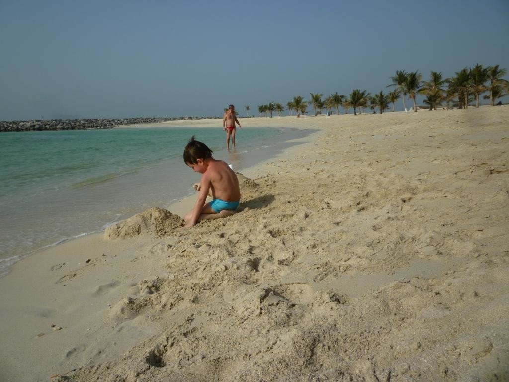 spiaggia a Sharjah