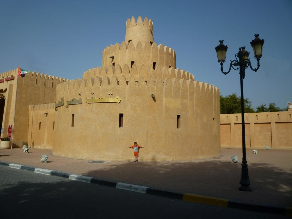 Torrioni del palazzo di Al Ain
