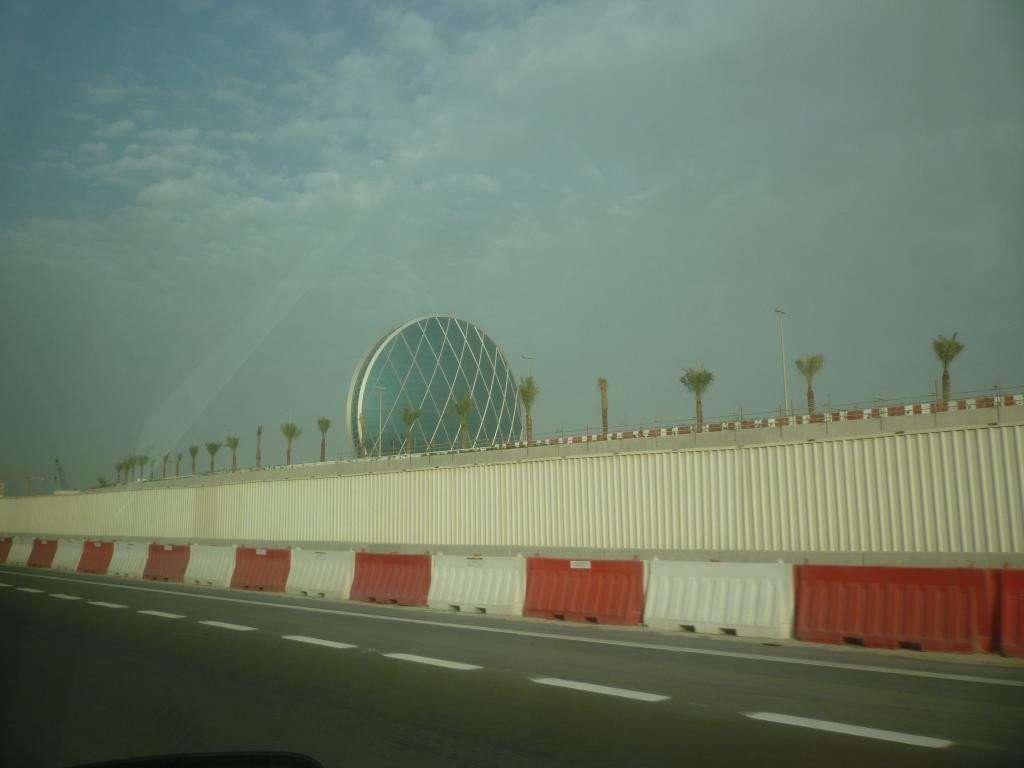Abu Dhabi shell tower