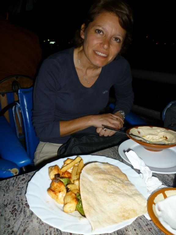 cena sulle rive del Creek