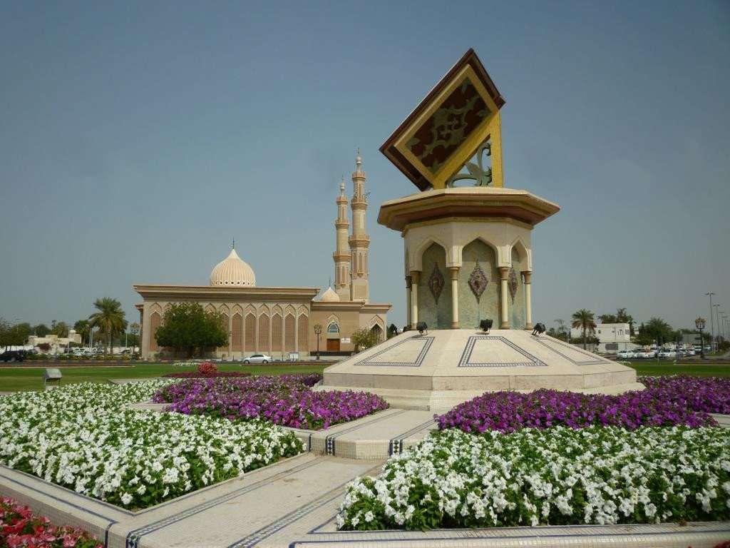 Cultural square e la moschea