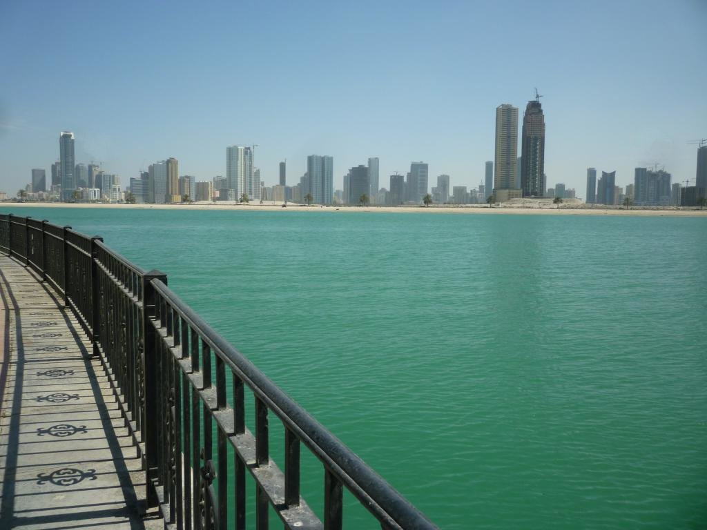 Vista su Sharjah downtown