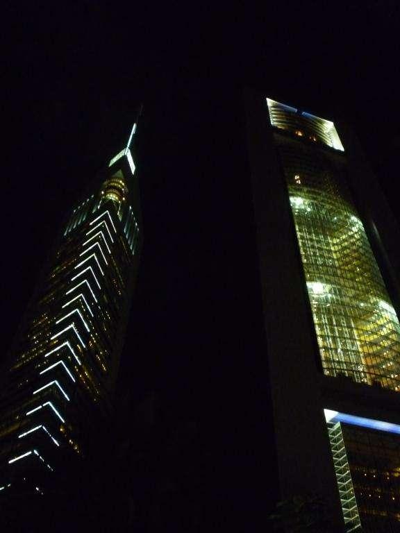 grattacieli sulla Sheyk Zayed road