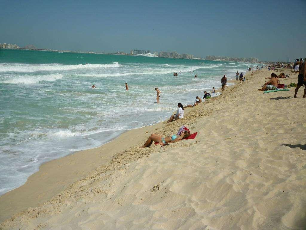 Spiaggia di Dubai marina
