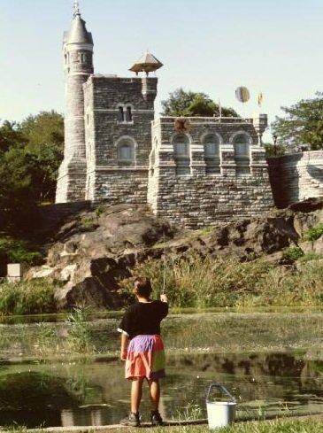 Castello di Belvedere Central park