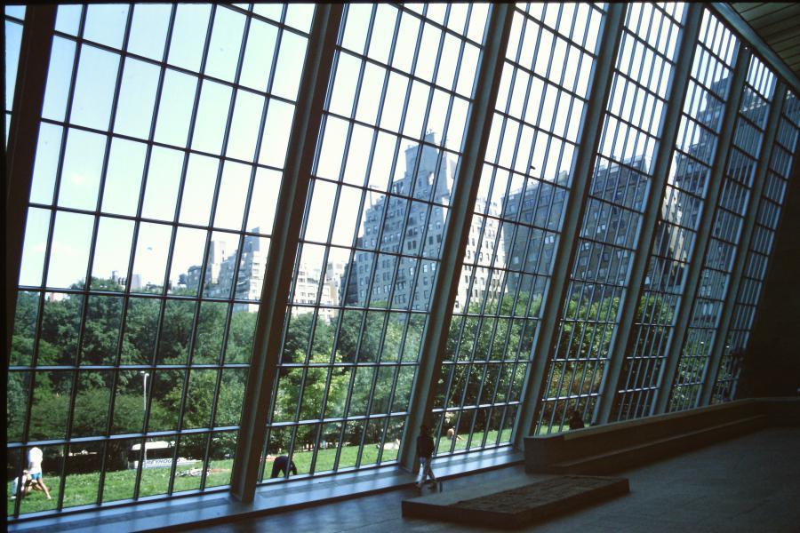 Vetrata su Central Park al Met