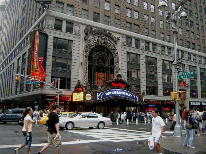 Broadway e Times Square