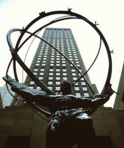 Rockefeller Center l'Atlante