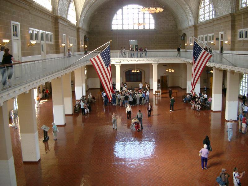 Museo Immigrazione a Ellis Island