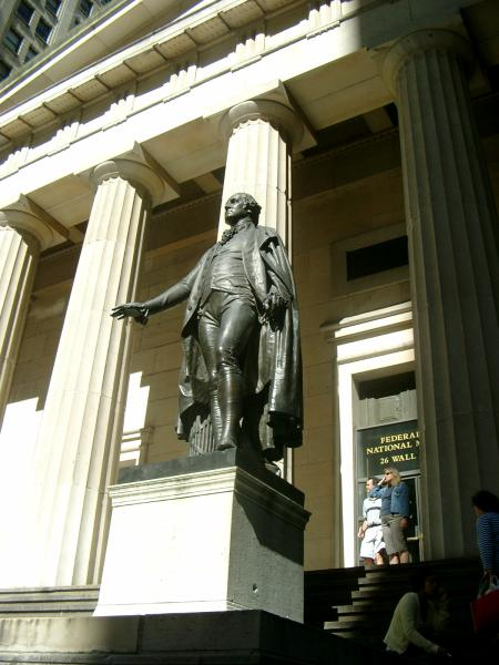 Federal Hall George Washington