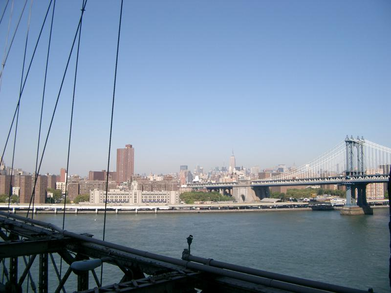 Panorama dal Brooklyn Bridge