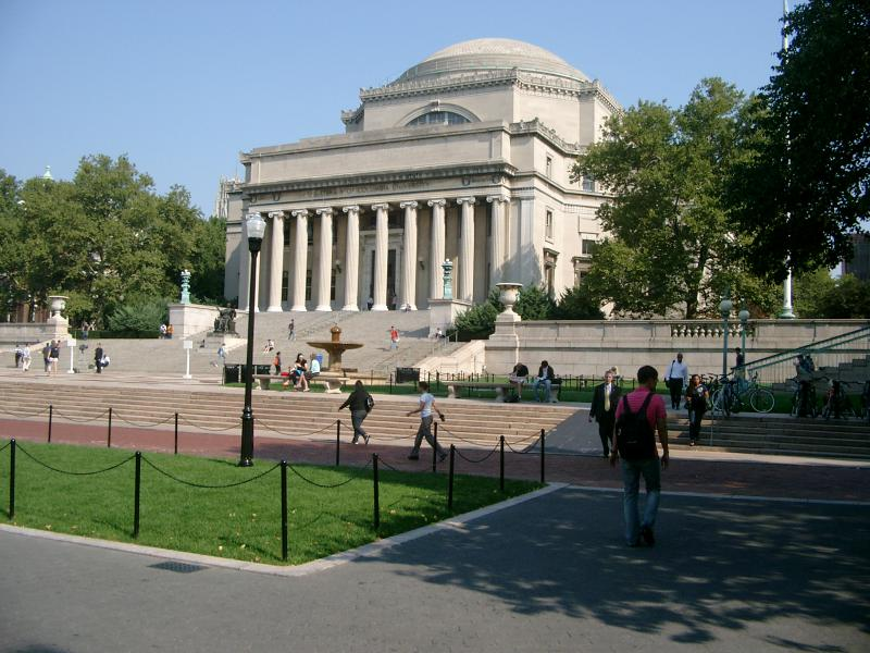 Low Memorial Library Columbia University