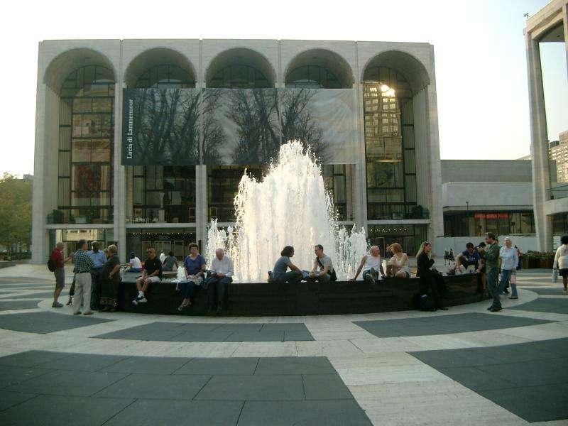 Lincoln center fontana