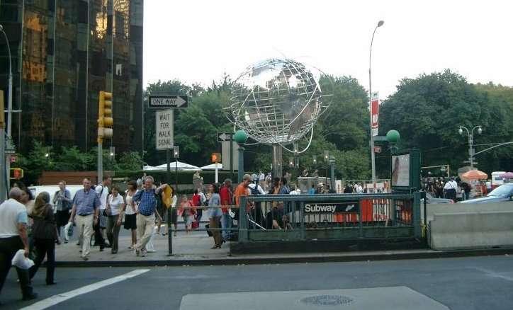 Il Globo a Columbus circle