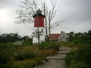 Nauset light a Cape Cod Massachusetts