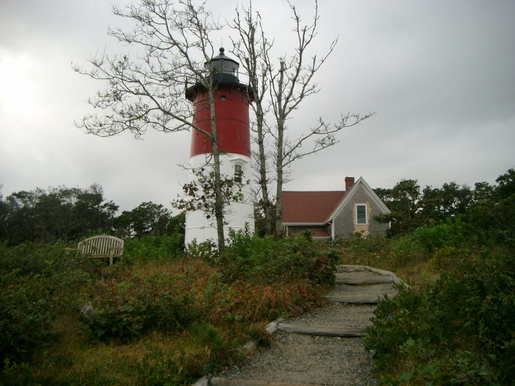 Nauset light a Cape Cod Massachusetts
