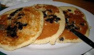 Pancakes ai mirtilli in Massachusetts