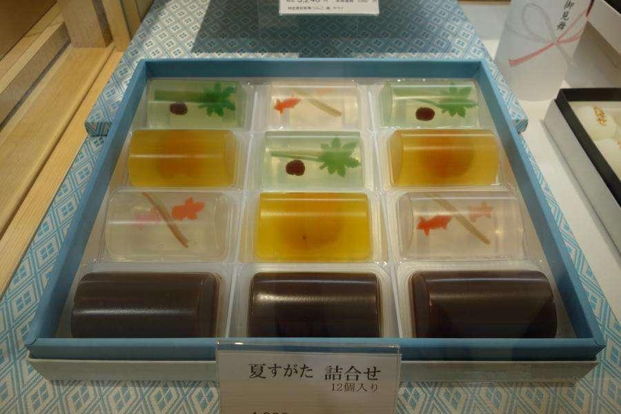 Gelatine dolci giapponesi