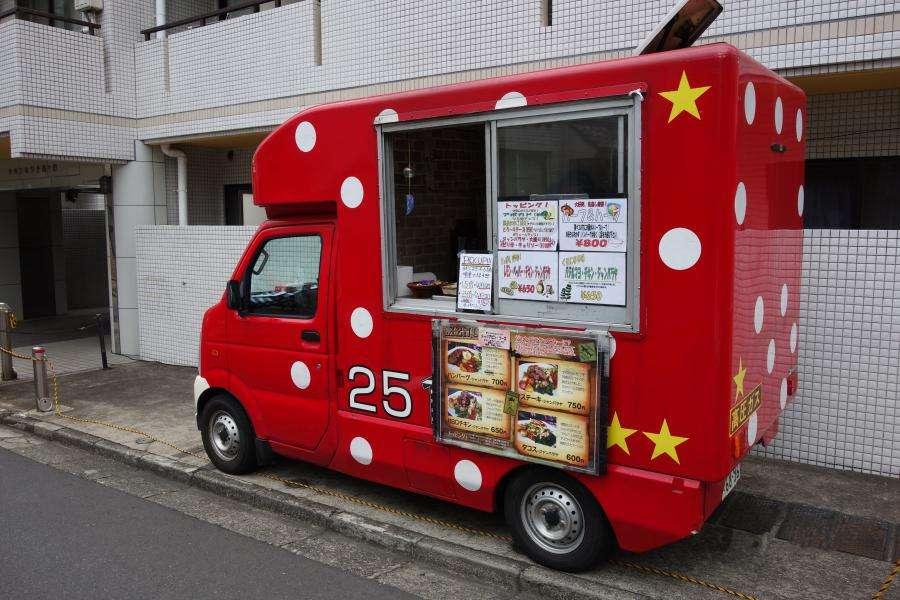 Street food furgoncino