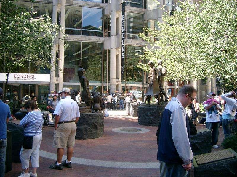 Irish Famine Memorial a Boston