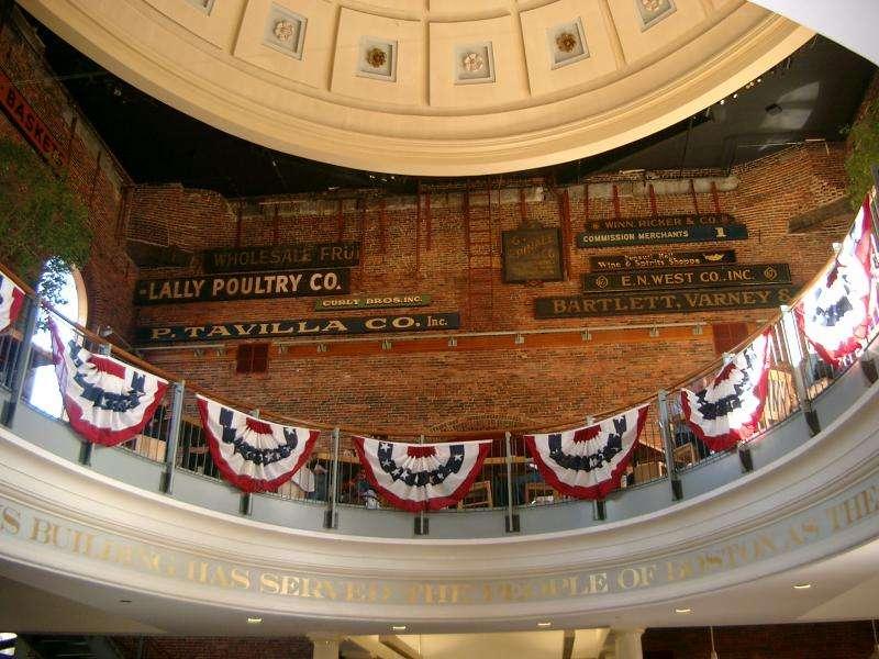 Cupola del Quincy market a Boston
