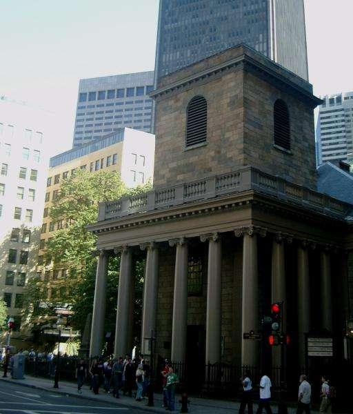 King's chapel a Boston