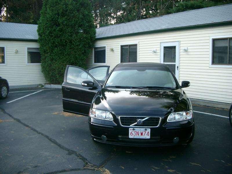 Auto fuori dal motel