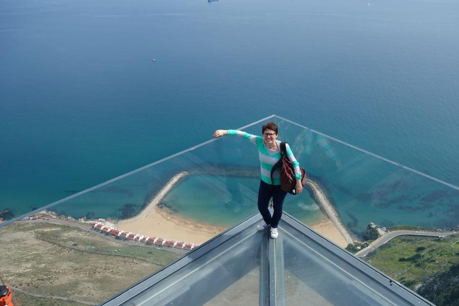 Skywalk di Gibilterra
