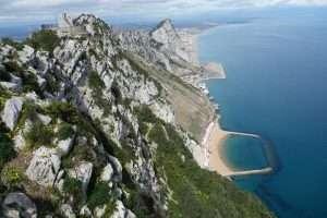 Fianco della rocca di Gibilterra