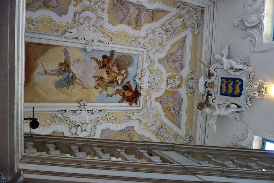 Scalone nel Palazzo del Patriarcato