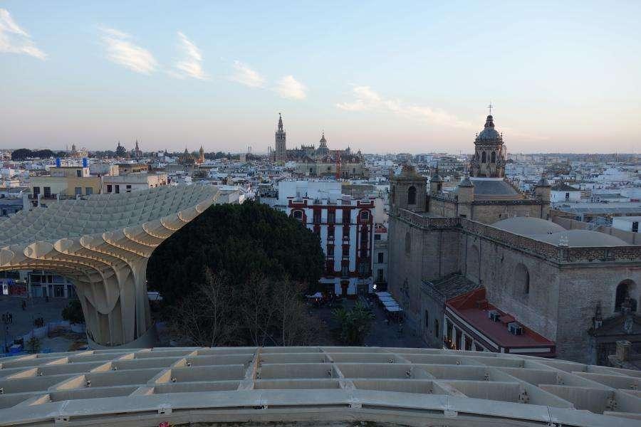 Metropol Parasol vista su Siviglia