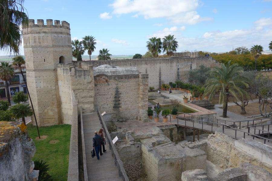 Alcazar di Jerez de la Frontera mura