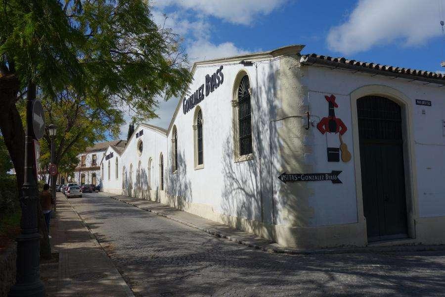 Cantine di sherry a Jerez de la Frontera