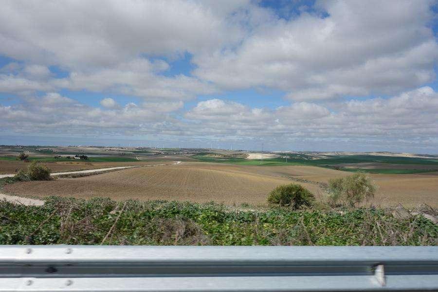 Panorami andalusi dall'autostrada