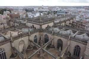 Cattedrale di Siviglia dalla Giralda