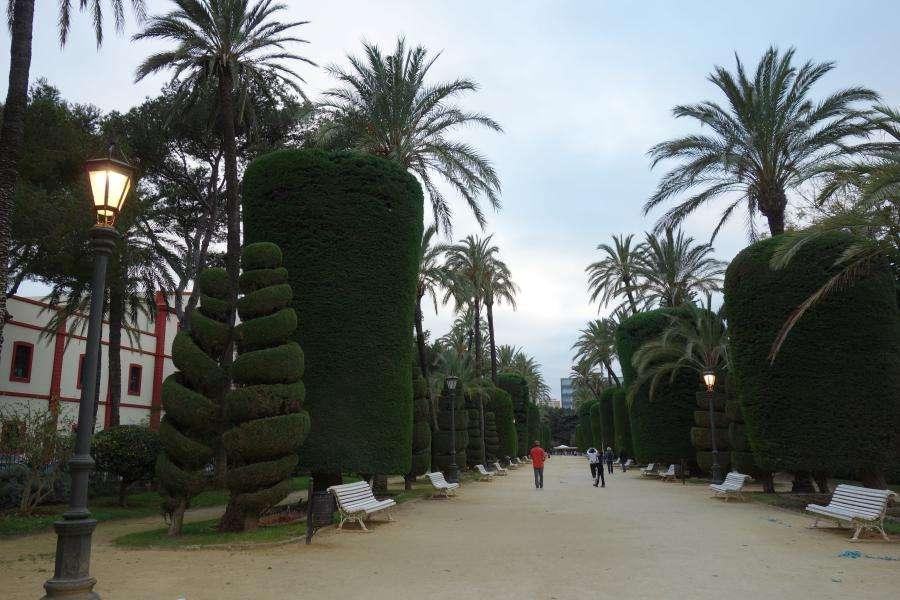 Parque genoves Cadice