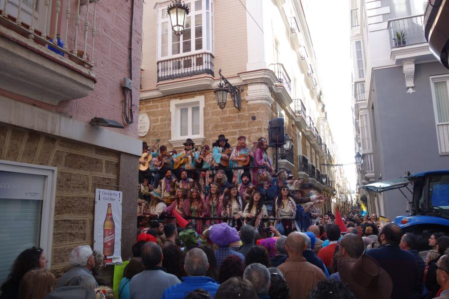 Carnevale a Cadice