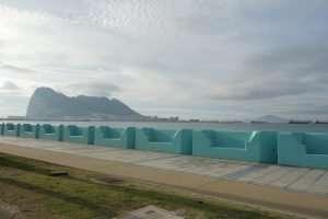 Gibilterra la rocca da lontano