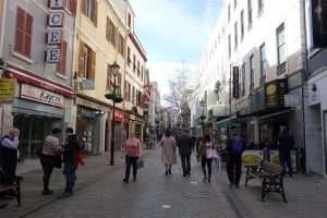 Main Street a Gibilterra