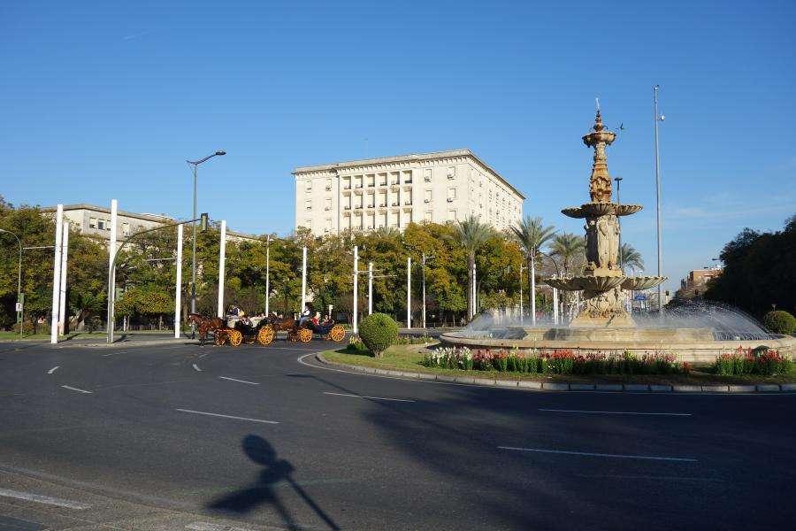 Fuente de las cuatros estaciones a Siviglia
